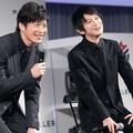 サポーター代表として参加した田中圭、本郷奏多