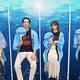 映画『ぐらんぶる』公開記念前夜祭に出席した(左から)木村良平、竜星涼、与田祐希、犬飼貴丈