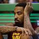 米プロバスケットボール(NBA)のクリーブランド・キャバリアーズから放出されることになったJ・R・スミス(2018年5月15日撮影、資料写真)。(c) Maddie Meyer/Getty Images/AFP