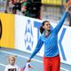 女子走高跳・決勝にて。  ロンドン五輪金のチチェロワは、2mに失敗。1m97で3位に終わった。  (撮影:フォート・キシモト)  [2013年8月17日、ルジニキ・スタジアム/モスクワ/ロシア]