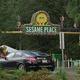 事件のあったセサミ・プレイスの入場口=米ペンシルベニア州ミドルタウン・タウンシップ/WPVI