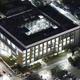 教員が男子学生に刺される事件があった名城大天白キャンパス=名古屋市天白区で2020年1月10日午後5時53分、本社ヘリから