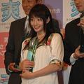 「さわやかヘアスタイル大賞」を受賞した、左から松岡修造、眞鍋