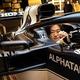 「AT02」のステアリングを握る角田裕毅(C) Scuderia AlphaTauri / Red Bull Content Pool