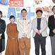 左から佐藤栞里、伊藤沙莉、設楽統&日村勇紀(バナナマン)、内藤剛志