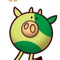わさビーフの新キャラクター「わさぎゅ〜」