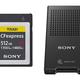 ソニー、CFexpress Type B メモリーカード「CEB-Gシリーズ」とカードリーダー『MRW-G1』を発表