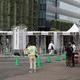 1日1万人接種できる東京の大規模接種センター(写真 つのだよしお/アフロ)