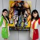 G3・ゴールドカップレースをPRする「OVAL Angel」の廣瀬千鶴さん(左)と杉崎桃子さん