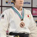 78kg級で3位に入った、岡村智美 (2013年12月1日、撮影:フォー