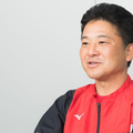 広島・石井雅也ヘッドトレーナー【写真:小林靖】