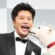 """田中圭&""""お父さん""""の可愛らしいキスに、報道陣ほっこり"""