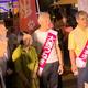 7月4日、秋葉原駅前で演説したれいわの候補者たち