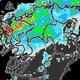 線状降水帯が九州本土に 北部は昼ごろまで大雨に厳重警戒