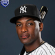 TAMPA, FLORIDA - FEBRUARY 21:  Miguel Andujar #41 of the New York Yankees poses for a portrait during the New York Yankees Photo Day on February 21, 2019 at George M. Steinbrenner Field in Tampa, Florida. (Photo by Elsa/Getty Images)