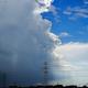 まるで「天気の子」ゲリラ豪雨後に撮影した境目の雲を激写
