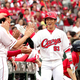 今季チーム初の初回先頭打者本塁打を放った広島・西川