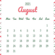 【8月の開運日カレンダー】22日の「寅の日」は金運デー! 大きな買い物をして運気アップ!