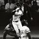 1978年10月28日、日米野球第1戦シンシナティ・レッズ戦で8回、ソトから決勝2ランを放つ中畑清