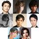 上段左から木村達成、小野賢章、加藤和樹、中段左から松下優也、堂珍嘉邦、田代万里生、下段左からMay'n、エリアンナ。