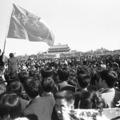 1989年六四天安門事件当時、天安門広場で集会を行った学生の中