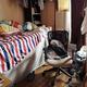 傍聴で出会った李くんではなかったが、中国人留学生たちが下宿する部屋(大家さんの許可を得て撮影)。李くんもこうしたところで生活していたのだろうか
