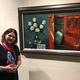 中ロ画家による油絵展、芸術文化交流を促進