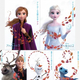新キャラの名前も明らかに! 映画『アナと雪の女王2』キャラクターポスター