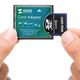 SDHC・SDXCカードをコンパクトフラッシュに変換できるアダプタ