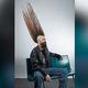 米ミネソタ州の男性が、モヒカンの高さでギネスから世界一との認定を受けた/Courtesy Guinness World Records 2021