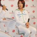 トークーショーを行った浦田聖子選手