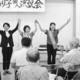 (写真)声援に応える(左から)石垣参院議員、高見候補、大内真理県議=17日、仙台市