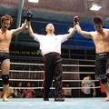 西vs平田の一戦は、2R時間切れ引き分けとなった