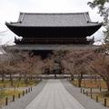 南禅寺三門(画像はIsamu HIROSE(@BubbleHeadJP)さん、2月1日
