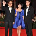 園子温、染谷将太、二階堂ふみがヴェネチア国際映画祭のレッドカ