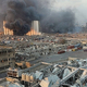 レバノンの首都で爆発が発生し死者は100人に 衝撃波で窓ガラス砕け散る