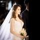 T-ARA出身アルム、自身の結婚式で歌を披露…エレガントな花嫁姿