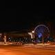 午後8時以降の外出禁止令で人けのない、カナダ・ケベック州モントリオールの観光地区(2021年1月9日撮影)。(c)Eric THOMAS / AFP