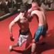写真はYoutube「Winner Taps Out In Amateur MMA Fight - AXS TV Fights」のキャプチャ