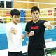 9月にロシアで行われる世界選手権の代表に決定した村田昴(左)と梅村錬