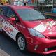 これが若鯉応援タクシーだ(山口県タクシー協会)