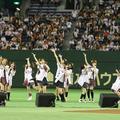 AKB48「読売巨人軍創立75周年応援隊」始球式
