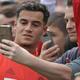 コウチーニョがバイエルンで初練習、ドルトムントのケール氏も歓迎