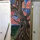 壁紙をはがすと一面に描かれた壁画が現れた/Courtesy Ceejae Jackman