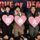8月23日に行われた映画「おっさんずラブ LOVE or DEAD」の初日舞台あいさつに登壇した(左から)沢村一樹、林遣都、田中圭、吉田鋼太郎、志尊淳