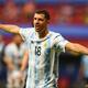 コパ・アメリカ、グループA、アルゼンチン対ウルグアイ。ゴールを喜ぶアルゼンチンのギド・ロドリゲス(2021年6月18日撮影)。(c)EVARISTO SA / AFP