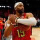 米プロバスケットボール(NBA)、アトランタ・ホークスのビンス・カーター(2018年11月21日撮影、資料写真)。(c)Kevin C. Cox/Getty Images/AFP