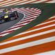 F1の第17戦、インドGPから。  写真は、同GPを制した、セバスチャン・ベッテル(ドイツ)。 (photo by DPPI/PHOTO KISHIMOTO)  [2012年10月28日、ブッダ・インターナショナル・サーキット/デリー/インド]