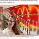 マクドナルドのグッズを見るだけで「心が躍る」とテイラーさん(画像は『New York Post 2021年5月28日付「Virginia woman transforms home into McDonald's shrine」(Taylor Gecking / CATERS NEWS AGENCY)』のスクリーンショット)