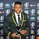 7月の薬物検査で陽性となっていたことが判明したラグビー南アフリカ代表のアピウェ・ディアンティ(2018年11月25日撮影)。(c)YANN COATSALIOU / AFP